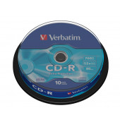CD-R 700MB 52X VERBATIM 10/1
