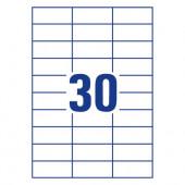 ETIKETE SOREX 70x29,7 100/1
