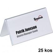 NAMIZNA IMENSKA PLOŠČICA 52x100mm DURABLE 8051 25/1