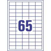 LASERSKE ETIKETE SOREX 38x21,2 100/1