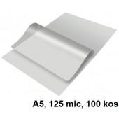 ŽEPKI ZA PLASTIFICIRANJE KLIPKO A5 154x216mm 125mic 100/1