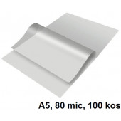 ŽEPKI ZA PLASTIFICIRANJE KLIPKO A5 154x216mm 80mic 100/1