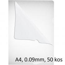 SRAJČKA L A4 0,09mm KLIPKO GLADKA PP 50/1
