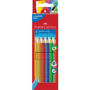 FABER CASTELL BARVICE COLOUR GRIP JUMBO 1/6