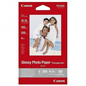 FOTO INK JET PAPIR CANON GP-501 GLOSSY PHOTO 10x15cm 200g 0775B003BB 100/1