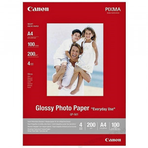FOTO INK JET PAPIR CANON GP-501 GLOSSY PHOTO A4 200g 0775B001AB 100/1