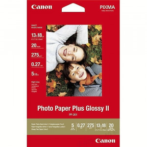 FOTO INK JET PAPIR CANON PP-201 HIGH GLOSSY PHOTO 13x18cm 265g 2311B018AA 20/1