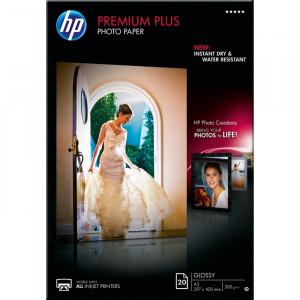 FOTO INK JET PAPIR HP PREMIUM PLUS GLOSSY PHOTO A3 300g CR675A 20/1
