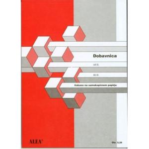 SAMOKOPIRNA DOBAVNICA A5 ALEA OBRAZEC 5.39