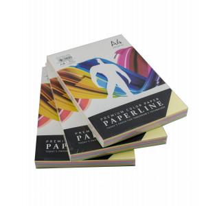 PAPIR BARVNI PAPERLINE A4 80g PASTELNE BARVE MIX 250/1
