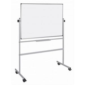 TABLA BELA MAGNETNA SAMOSTOJEČA BI-OFFICE 90x120 cm