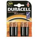 BATERIJA AA DURACELL BASIC LR6  K4 4 kos