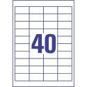 ETIKETE SOREX 48,5x25,4 100/1