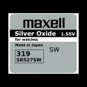 GUMB BATERIJA MAXELL SR-527SW 319