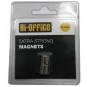 MAGNETI ZA STEKLENE TABLE BI-OFFICE 10mm SREBRNI 2/1