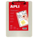 TABLICA CLIPBOARD A4 APLI ALUMINIJ