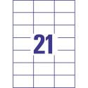 ETIKETE SOREX 70x42,3 100/1