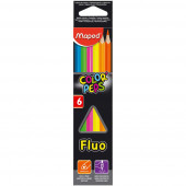 BARVICE MAPED COLOR'PEPS STAR FLUO 6/1