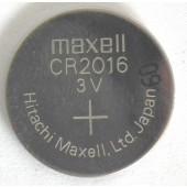 GUMB BATERIJA MAXELL CR2016