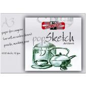 BLOK ZA SKICIRANJE A3 KOH-I-NOOR POP SKETCH 110g 20/1
