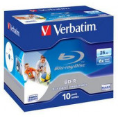 BD-R BLUE-RAY MEDIJ 25Gb VERBATIM 10/1 (43713)