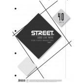 VLOŽNI LISTI A4  BREZČRTNI STREET 40/1