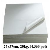 DELIKATESNI PAPIR S FOLIJO  25x37cm 20kg (4.320 POL)