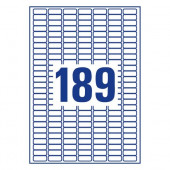 ETIKETE SOREX 25,4x10 100/1