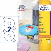 ETIKETE ZWECKFORM ZA CD 117mm L6043-25 25/1