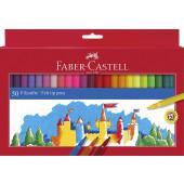 FLOMASTRI FABER CASTELL CASTLE  1/50