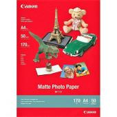 FOTO INK JET PAPIR CANON MP-101 MAT PHOTO A4 170g 7981A005AC 50/1