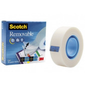 ODSTRANLJIV NEVIDNI LEPILNI TRAK 3M SCOTCH REMOVABLE TAPE 811
