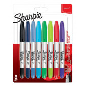MARKER SHARPIE DUO FINE-ULTRA FINE SET 8/1