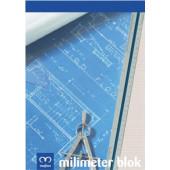 MILIMETRSKI PAPIR V BLOKU A4 20 LISTNI 741793