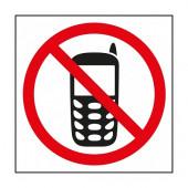 NALEPKA PREPOVED UPORABE MOBILNEGA TELEFONA 114x114mm APLI 00848