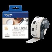 NALEPKE TERMO OKROGLE 24mm BELE BROTHER QL DK-11218 1000/1