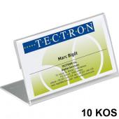 NAMIZNE IMENSKE KARTICE 52x100mm DURABLE 8055 10/1