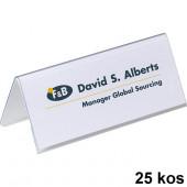 NAMIZNE IMENSKE KARTICE 61x150mm DURABLE 8050 25/1