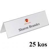 NAMIZNE IMENSKE KARTICE 105x297mm DURABLE 8053 25/1