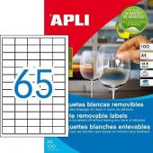 ODSTRANLJIVE ETIKETE APLI 38x21,2 100/1