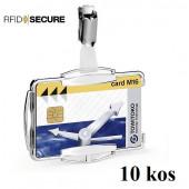 OVITEK ZA MAGNETNE KARTICE S PRIPONKO 54x87mm RFID DURABLE 8901 10/1