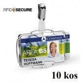 OVITEK ZA DVE MAGNETNI KARTICI S PRIPONKO 54x87mm RFID DURABLE 8902 10/1