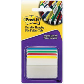 POST-IT OZNAČEVALEC S PREGIBOM 50,8x38mm 4x6 LISTOV 3M POST-IT 686A-1