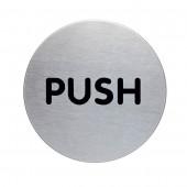 TABLICA PIKTOGRAM PUSH 56mm DURABLE 490023