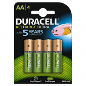 POLNILNE BATERIJE AA DURACELL STAY CHARGED HR6  K4 2400mAh 4 kos