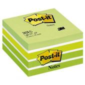 POST-IT KOCKA SAMOLEPILNA 76x76 450 LISTOV 3M PASTEL GREEN 2028 G