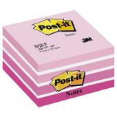 POST-IT KOCKA SAMOLEPILNA 76x76 450 LISTOV 3M PASTEL PINK 2028 P