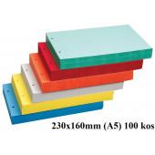 PREGRADNI KARTONI A5 230x160 100/1