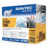 TABLETE ZA POMIVALNI STROJ SANITEC STOVIL TABS 6v1 60 tablet