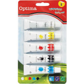 TEMPERA BARVICE OPTIMA SET 4 BARV
